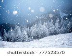 christmas and new year... | Shutterstock . vector #777523570