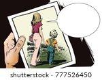 stock illustration. people in... | Shutterstock .eps vector #777526450