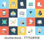 vector illustration of finance | Shutterstock .eps vector #777528958