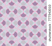 abstract seamless pattern in... | Shutterstock .eps vector #777543010