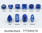 ten the most popular diamond... | Shutterstock . vector #777544174