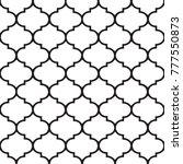 moroccan mosaic background. | Shutterstock . vector #777550873