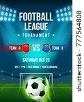 football league tournament... | Shutterstock .eps vector #777564808
