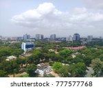 modern residential buildings in ... | Shutterstock . vector #777577768