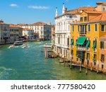 venice  italy   september 6 ... | Shutterstock . vector #777580420