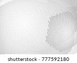 abstract halftone dotted... | Shutterstock .eps vector #777592180