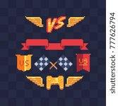 game tournament achievement... | Shutterstock .eps vector #777626794