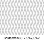 rhomb geometric seamless... | Shutterstock .eps vector #777627760