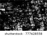 grunge black and white urban... | Shutterstock .eps vector #777628558