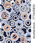 geometric pattern traditional... | Shutterstock . vector #777635854