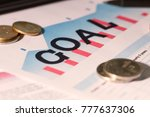 financial and economic... | Shutterstock . vector #777637306