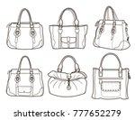 Collection Of Women\'s Handbags...