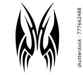 tattoo tribal vector design....   Shutterstock .eps vector #777662488