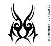 tattoos ideas designs   tribal... | Shutterstock .eps vector #777662530