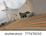saint paul cathdral of abidjan... | Shutterstock . vector #777670210