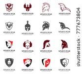 spartan logo vector  sparta... | Shutterstock .eps vector #777673804