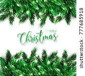 christmas party invitation... | Shutterstock .eps vector #777685918
