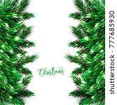 christmas party invitation... | Shutterstock .eps vector #777685930