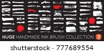 dirty diy handmade artistic... | Shutterstock .eps vector #777689554