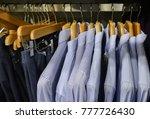 shop of men's shirts  suits.... | Shutterstock . vector #777726430