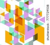 tendy illustration backgrounds  ... | Shutterstock .eps vector #777729538