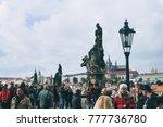 prague  czech republic  ... | Shutterstock . vector #777736780