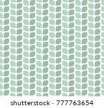geometric leaves vector...   Shutterstock .eps vector #777763654
