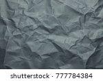 dark blue kraft paper texture   Shutterstock . vector #777784384