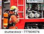 Fire Fighter Officers Preparin...