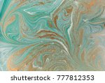 marble abstract acrylic... | Shutterstock . vector #777812353
