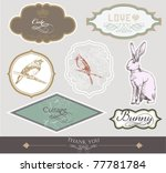 label set design | Shutterstock .eps vector #77781784
