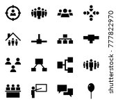 origami style icon set   target ... | Shutterstock .eps vector #777822970