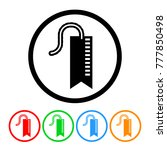 bookmark icon in four color... | Shutterstock .eps vector #777850498