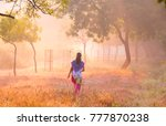 blurred abstract image of young ... | Shutterstock . vector #777870238