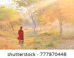blurred abstract image of young ... | Shutterstock . vector #777870448
