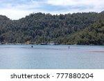 kizkumu beach in orhaniye bay... | Shutterstock . vector #777880204