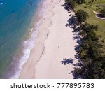 aerial view of beaches and...   Shutterstock . vector #777895783