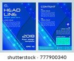 shine vector flyer  corporate... | Shutterstock .eps vector #777900340
