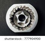 coffee machine grinder conical... | Shutterstock . vector #777904900