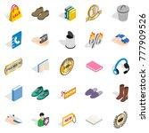 commercial acumen icons set....   Shutterstock .eps vector #777909526