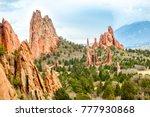 garden of the gods  colorado...   Shutterstock . vector #777930868