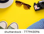 travel or tourism concept.... | Shutterstock . vector #777943096