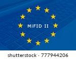 markets in financial... | Shutterstock . vector #777944206
