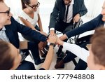 collective work of full fledged ... | Shutterstock . vector #777948808