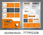 business flyer design template. ... | Shutterstock .eps vector #777952108