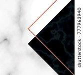 marble texture vector... | Shutterstock .eps vector #777963940