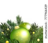 christmas and new year.... | Shutterstock . vector #777966439