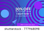 abstract geometric background... | Shutterstock .eps vector #777968098