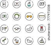 Line Vector Icon Set   Coffee...