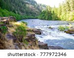 North Umpqua River Near Steamboat and Glide Oregon